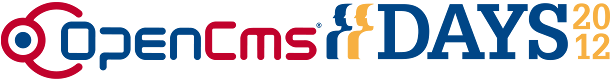 OpenCms Days 2012 Logo