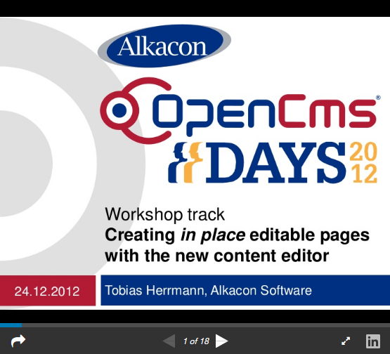 https://www.slideshare.net/AlkaconOpenCms/opencms-days-2012-opencms-85-creating-in-place-editable-pages-with-the-new-acacia-editor
